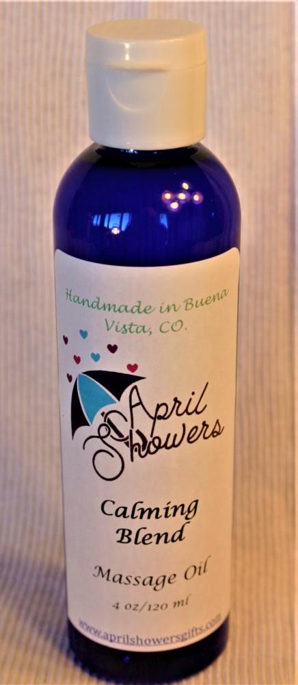 Calming Blend Massage/ Bath/ Body Oil