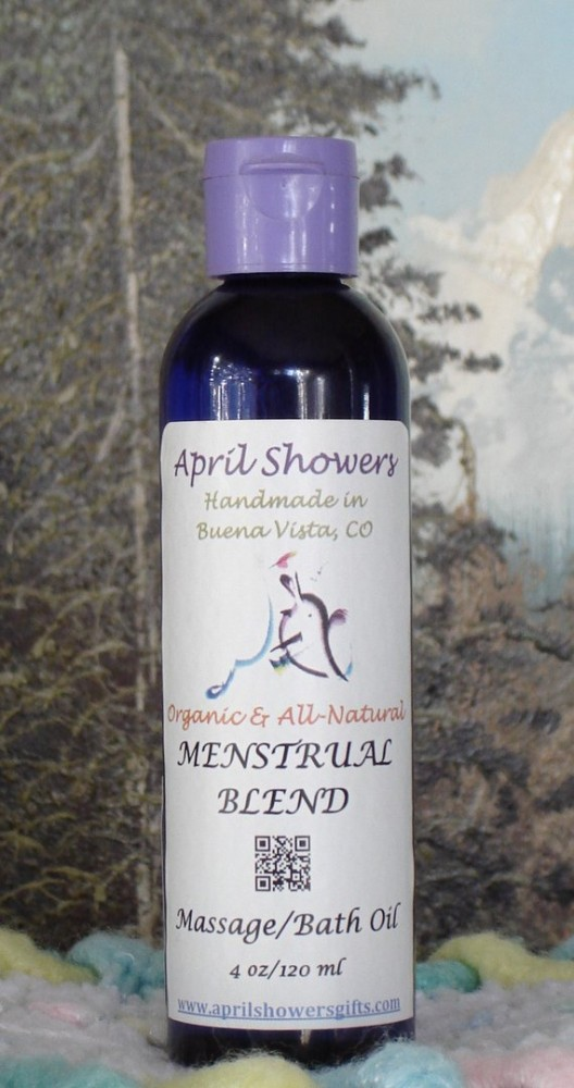 Menstrual Blend Massage/ Bath/ Body Oil