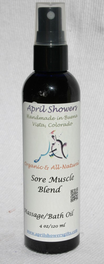 Sore Muscle Blend Massage/ Bath/ Body Oil