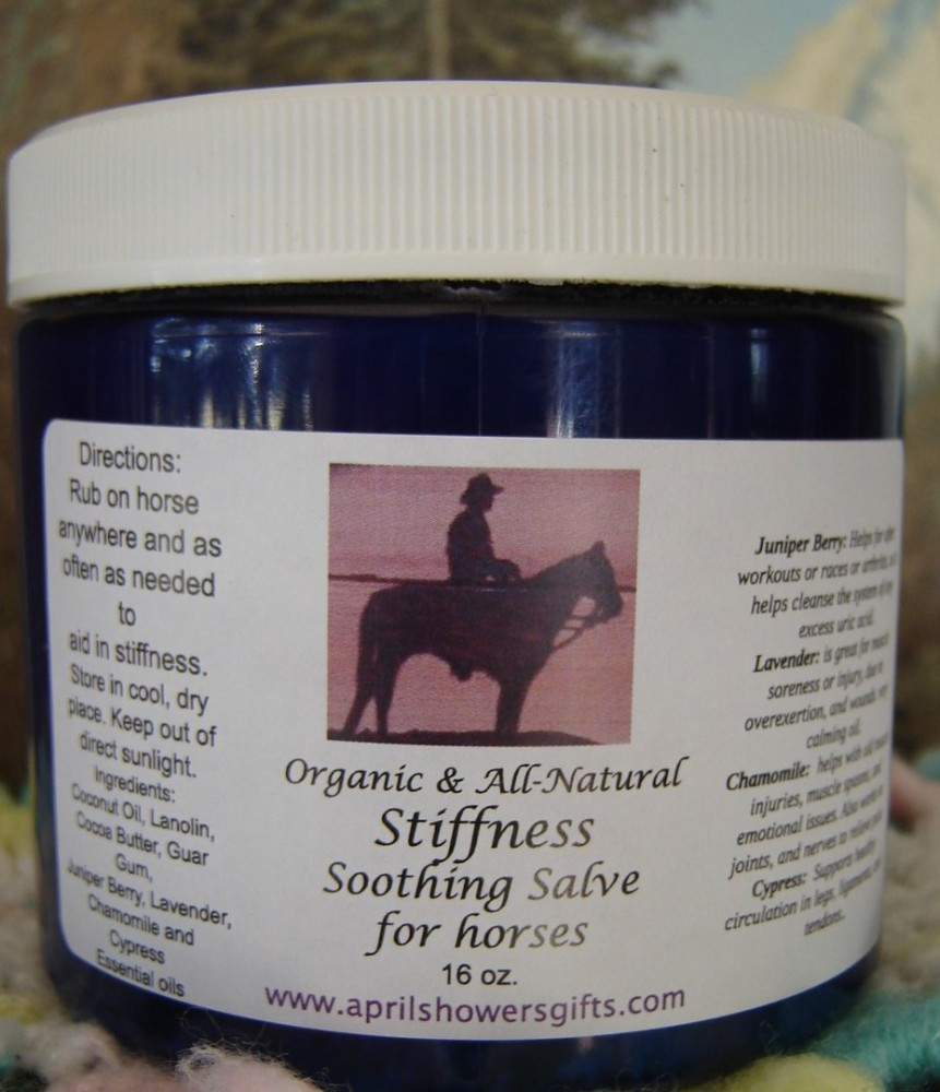 Stiffness Soothing Salve (Horses)