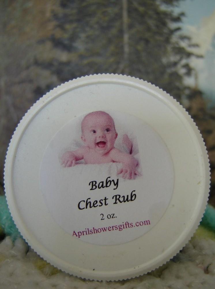 Baby Chest Rub