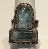AJTA Cardwell Aquamarine Ring (Size 8)