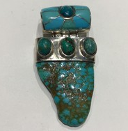 AJTA Turquoise Pendant