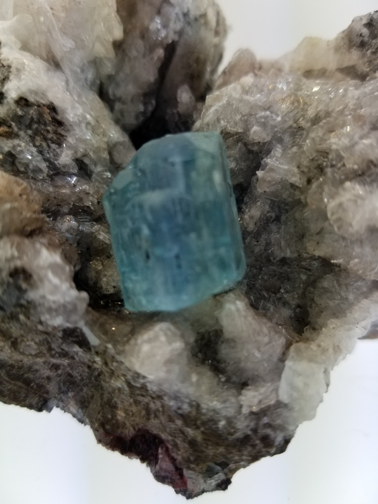 Aquamarine Fully Terminated