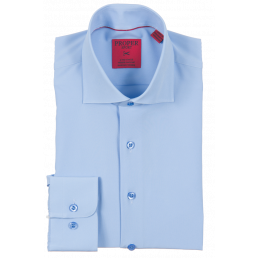 4 - Way Stretch Blue Shirt