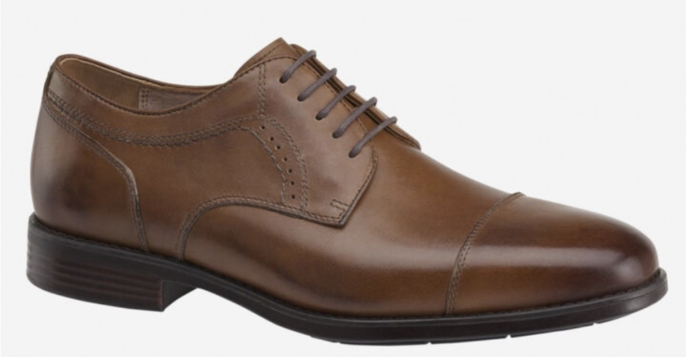 XC4 Branning Cap Toe Tie Shoes by Johnston and Murphy - XW Width
