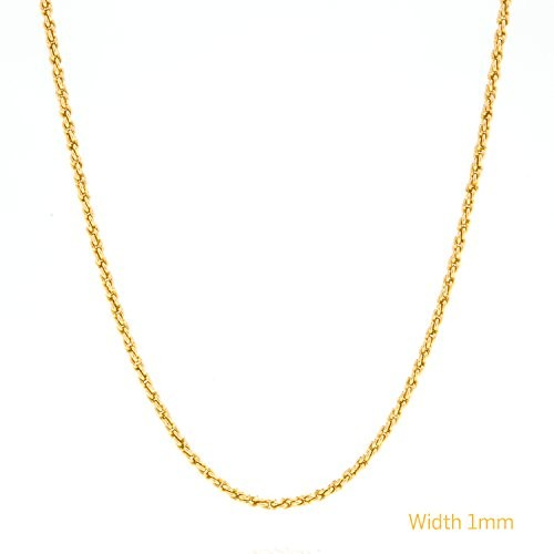 1MM Gold Rope Chain