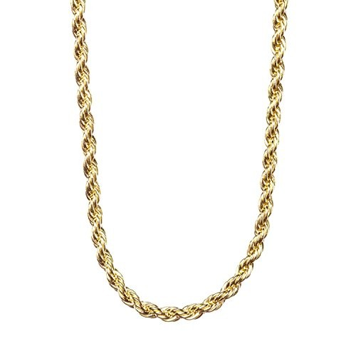 2MM Gold Rope Chain