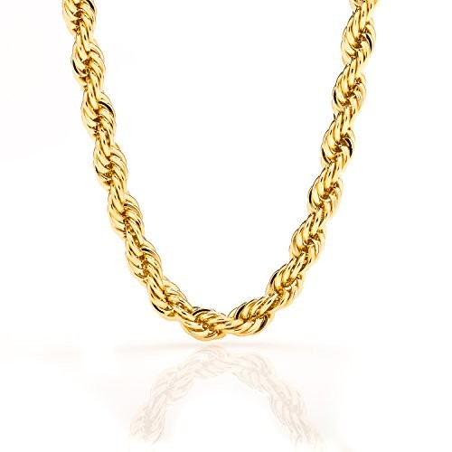 7MM Gold Rope Chain