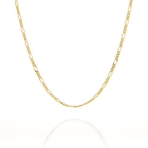 1.5MM Thin Figaro Gold Chain