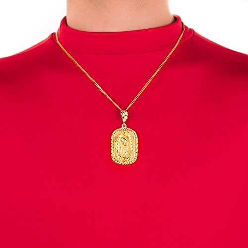 Our lady of guadalupe pendant gk gc28 0z0u religious jewelry our mozeypictures Choice Image