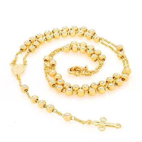 Gold Rosary Small