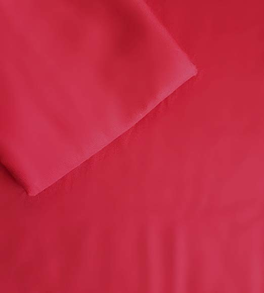 Red Crib/Toddler Bed Sheet and Pillowcase Set