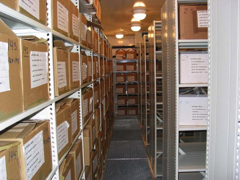 Precious resource: The Danish Newborn Screening Biobank holds more than 2 million samples of dried blood.