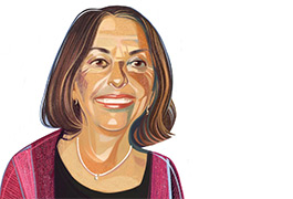 Connecting matters: Helen Tager-Flusberg links autism science to societyIllustration by Ivan Canu