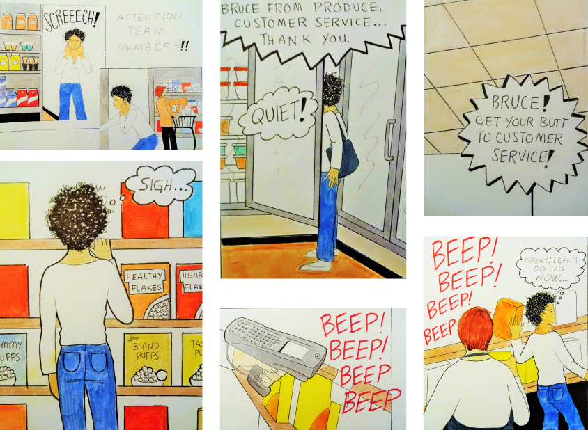 Artist With Autism Illustrates >> Artist With Autism Illustrates Invisible Disability