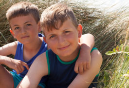 Sibling similarity: Younger brothers and sisters of children with autism are at increased risk of having autism too.