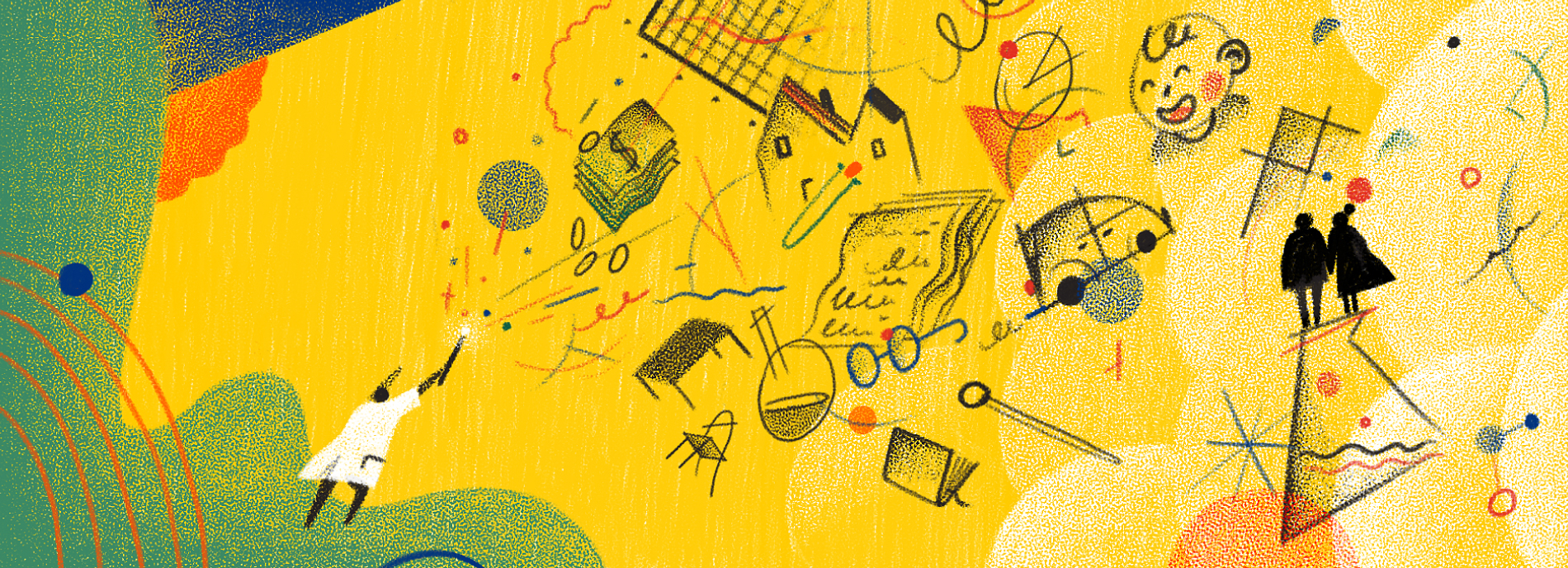 scientist orchestrates the chaos of work and life