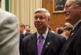 Rep. Fred Upton, R-Michigan, at a press conference promoting the 21st Century Cures Act. Photo courtesy of the House Energy and Commerce Committee