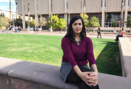 Vanessa Ramirez was diagnosed with ovarian cancer while in college. Now her entire family has healthcare because of the Affordable Care Act. Will Stone / KJZZ