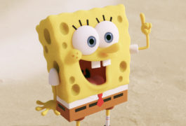 spongebob squarepants with an excited expression