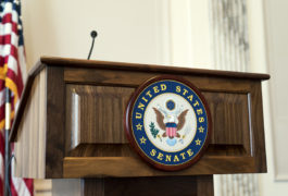 united states senate podium