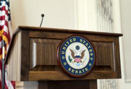 united states senate podium