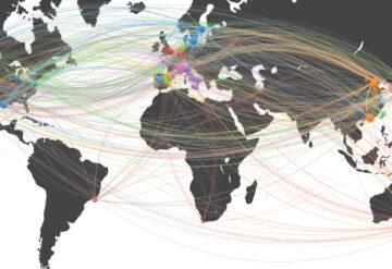 17800种人类蛋白质的全球地图。