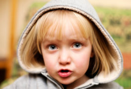 Blond toddler