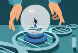 """crystal ball"" of genetic prediction"