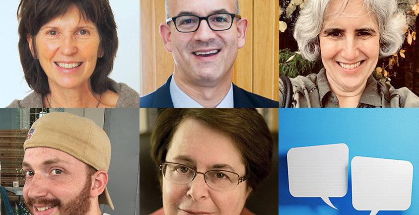 headshots of Connie Kasari, Matthew Seigel, Carol Greenburg, Benjamin Alexander, and Deborah Fein
