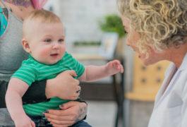有个大宝宝的儿科医生和父母