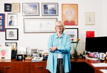 Cathy Lord in her office at UCLA