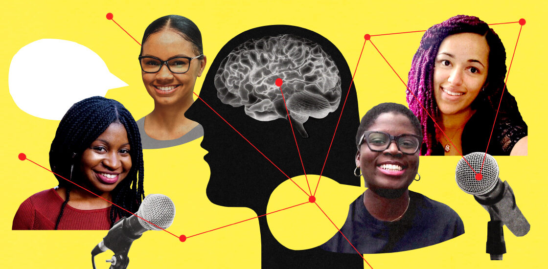 portraits of four black autism researchers