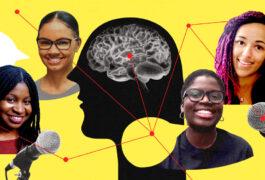 四名黑人自闭症研究人员的肖像