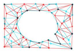 言语泡泡是由网络形成的交流