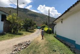 街景在哥伦比亚里加特