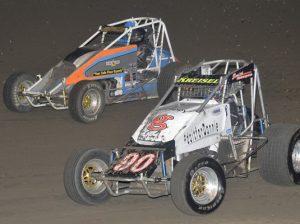 The WAR Sprint Car Series in action earlier this year. (Ken Simon Photo)