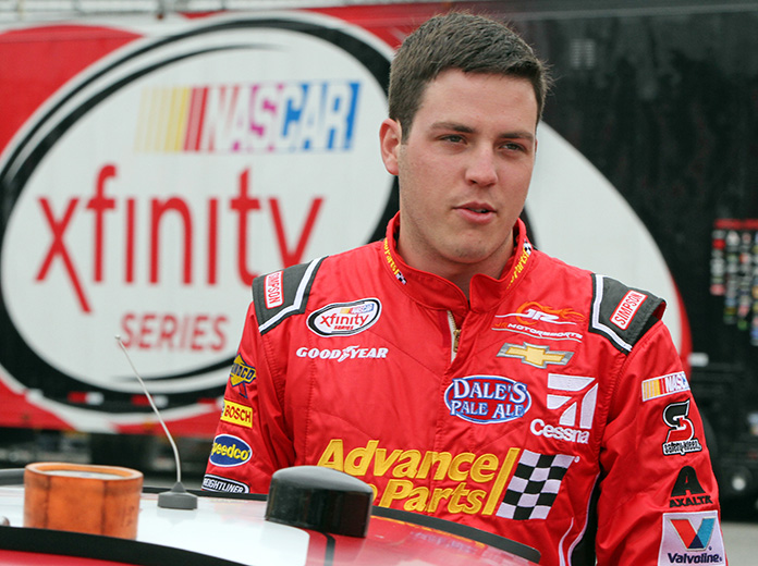 Alex Bowman is one of several drivers deserving of an opportunity in NASCAR. (HHP/Alan Marler Photo)