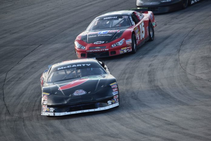 All American Auto Sales Kingsport Tn: Ronnie McCarty Tops Kingsport Opener