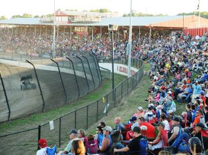 Eldora Speedway always packs the stands for the Kings Royal. (Julia Johnson Photo)