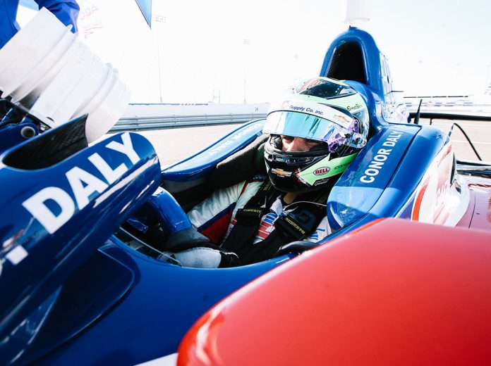 Conor Daly Paces Gateway Indycar Testing Speed Sport