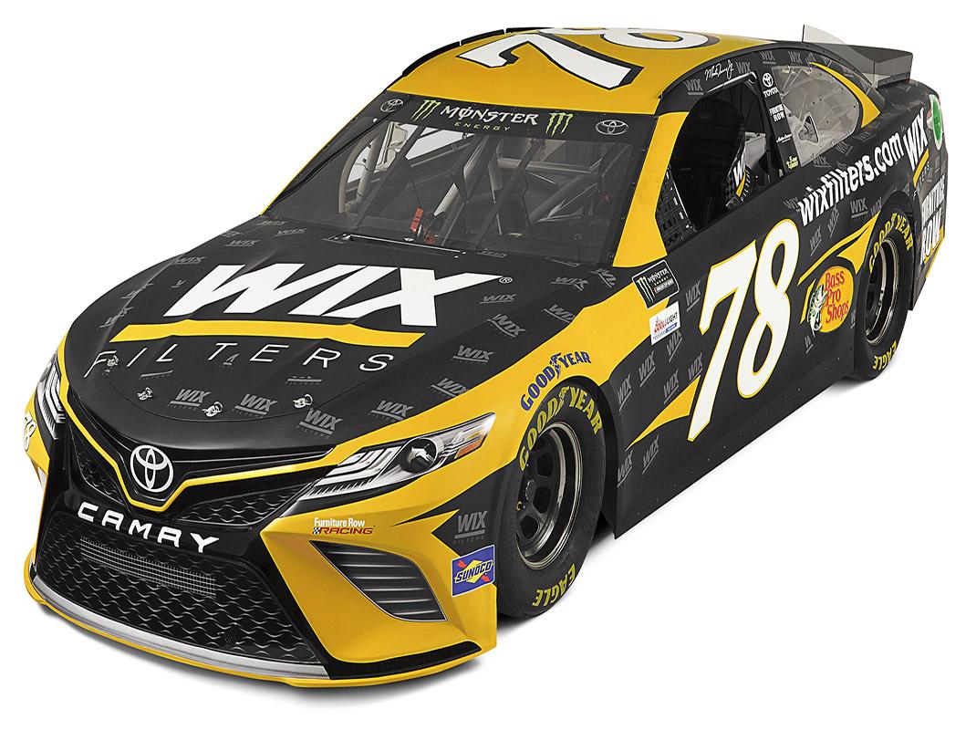 Wix Filters To Sponsor Truex In Loudon Speed Sport
