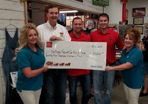 Bob Hall Honda >> Wells Fargo Donates $25,000 To Clauson Tower Project ...