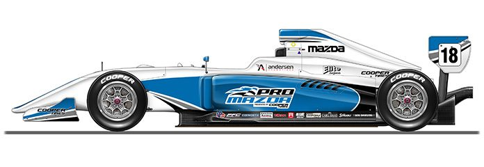 Juncos Racing Has Purchased Three New Tatuus PM 18 Chassisu0027 For Use In The  Pro Mazda Championship In 2018.