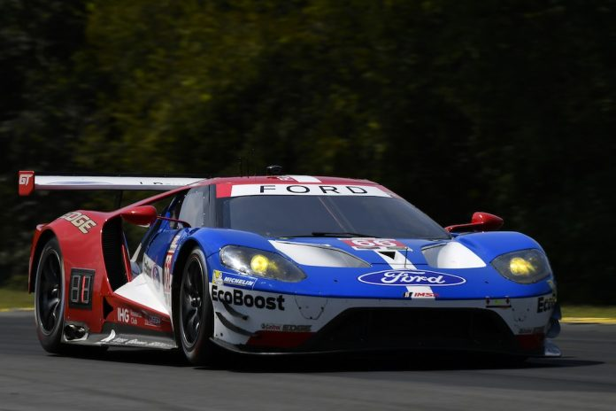 Ford Gt On The Pole For Sundays Michelin Gt Challenge At Virginia Intl Raceway Imsa Photo