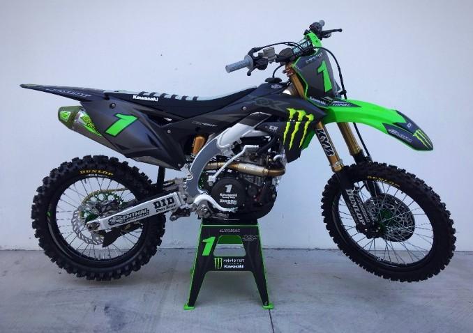 Kawasaki Team Debuts Graphics For Vegas | SD SPORT