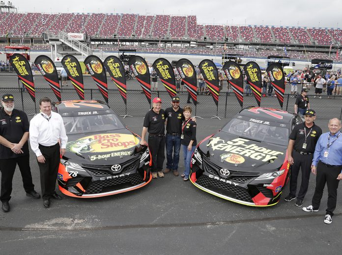 Furniture row racing announces co sponsorship diecast for Furniture row racing