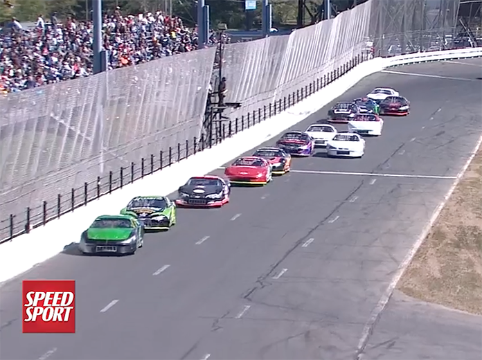 VIDEO: Raw Late Model Racing From Stafford   SPEED SPORT