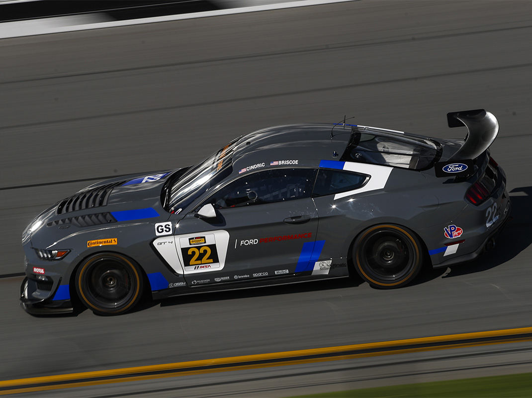 Ford S Young Guns Prepare For Continental Tire Challenge